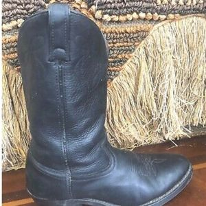 American West Leather Western Cowboy Boots